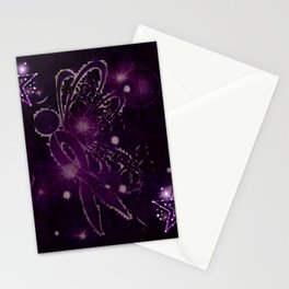 Power Purple For a Cure - Shooting Star Stationery Cards