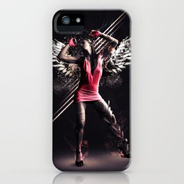 Pink Dancer iPhone Case