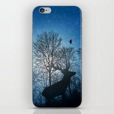 Deer in the snow iPhone & iPod Skin