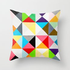 Geometric Morning Throw Pillow