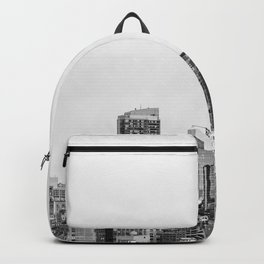The New York Cityscape City (Black and White) Backpack