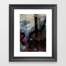 disquiet twenty four (i overcome) Framed Art Print