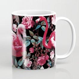 Floral and Flamingo VIII pattern Coffee Mug