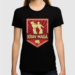 Krav Maga Propaganda | Martial Arts Self Defense T-shirt