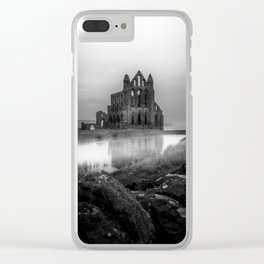 Gothic in Grey Clear iPhone Case