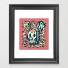 Vision étrange Framed Art Print