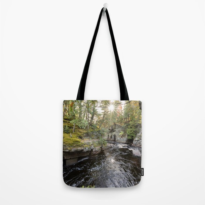 Sturgeon River Canyon in Michigan's Upper Peninsula Tote Bag