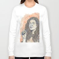 oitnb Long Sleeve T-shirts featuring Nichols OITNB by Ashley Rowe