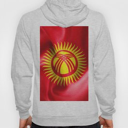 Kyrgyzstan Flag Hoody