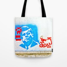 J.F.K. Street Art Tote Bag