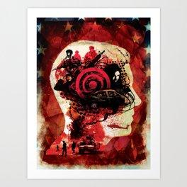 Post Traumatic Stress Disorder Art Print