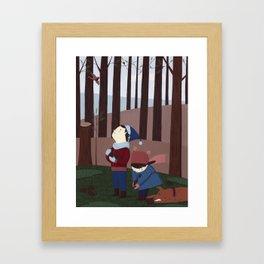 In the forest 2 Framed Art Print