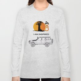 I AM INSPIRED LAND CRUISER 80 Series Long Sleeve T-shirt