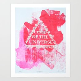 Child of the Universe  Art Print