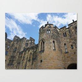Alnwick Castle, England - Photography Canvas Print