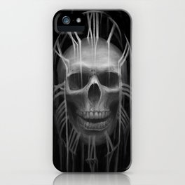 skull9:30 iPhone Case