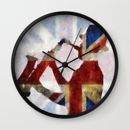 The Sax Player Wall Clock