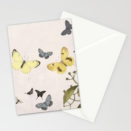 Let us dance in the sun- butterflies  Stationery Cards