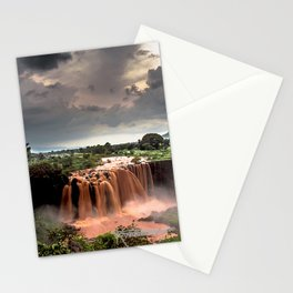 Nile Falls Stationery Cards