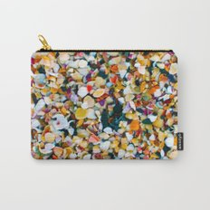 Crushed Sea Shells Carry-All Pouch