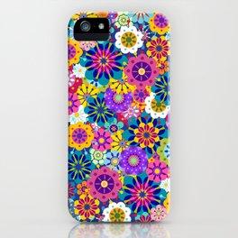 Retro Garden iPhone Case