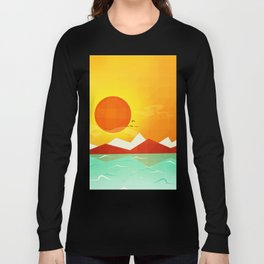 Inferno hot day - and we love it! Long Sleeve T-shirt