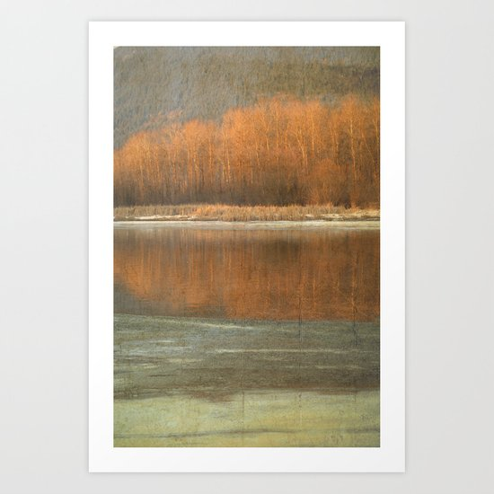 Winter Hues Art Print