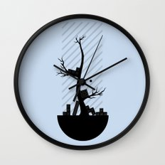 End of Shift Wall Clock
