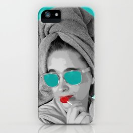 Future Black and White Movie Star iPhone Case