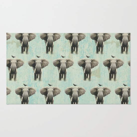 friends for life wall paper Rug