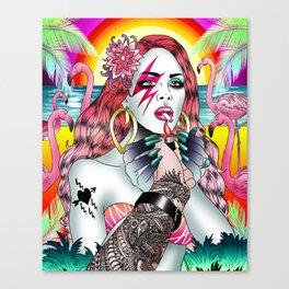 BowieLana Canvas Print