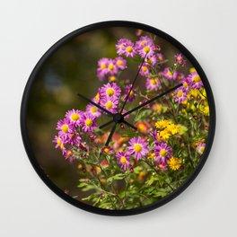 Plant A Flower Wall Clock