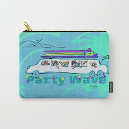 Party Wave Surf Mobile Carry-All Pouch