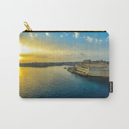Malta Sunrise Carry-All Pouch