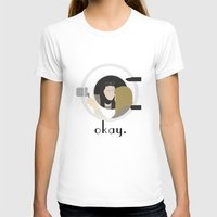 okay T-shirts featuring Okay. by Zharaoh