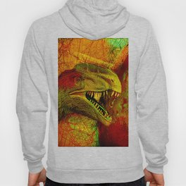 prehistoric extiction   (This Artwork is a collaboration with the talented artist Agostino Lo coco) Hoody