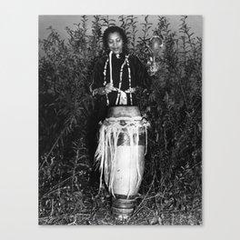 Zora Neale Hurston - BLM - African American Author - Steve On The Beach 1 Canvas Print