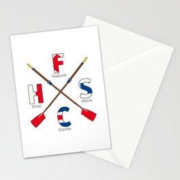 FrankHellSportingClub - Navy Alphabet Stationery Cards