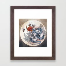Keep the Memories Framed Art Print