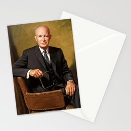 President Dwight Eisenhower Painting Stationery Cards