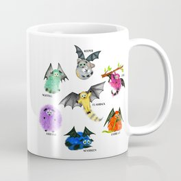 Seven Books, Seven Iggys Coffee Mug