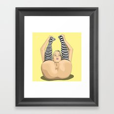 For my next trick... Framed Art Print