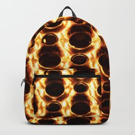 Fire and metal Backpack