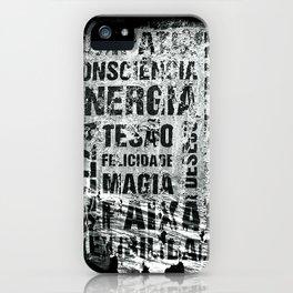 Energia iPhone Case