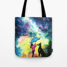 Raining stars Tote Bag