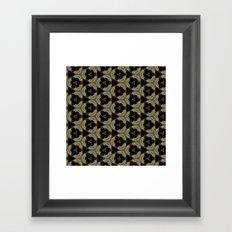pttrn12 Framed Art Print
