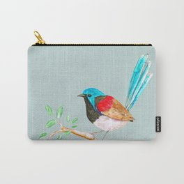 Variegated fairy wren Carry-All Pouch