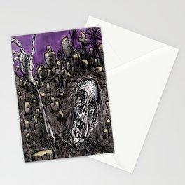 Zombies....Braaaiiinnnnsss!!! Stationery Cards