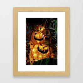 Hey Boo! Framed Art Print