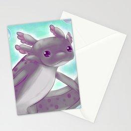 Love a Lotl Like an Axolotl Stationery Cards